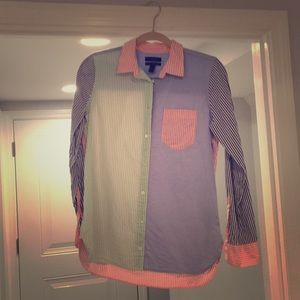 NWOT women's J. crew boyfriend Oxford shirt, 4